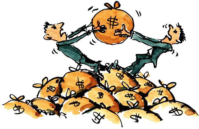 Спор из-за денег