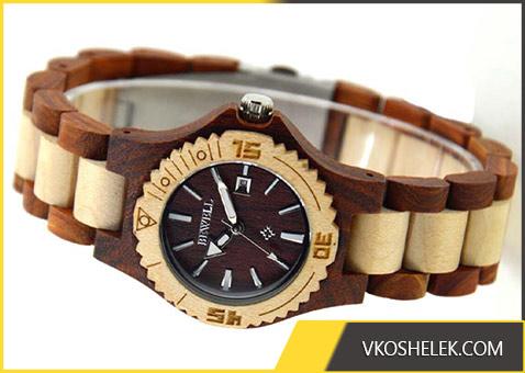 Часы из дерева - полпулярный китайский лот