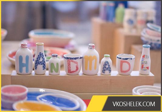 Посуда с надписями своими руками