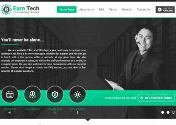 Earn Tech - обзор проекта earntech.cc