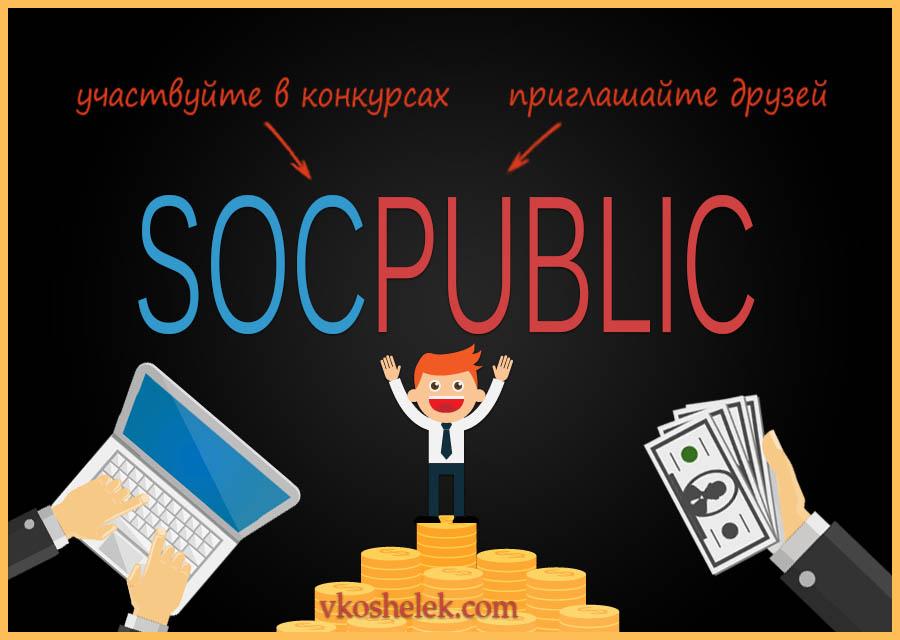 Обзор сайта Socpublic - выполнение заданий за деньги