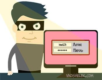 Взломщик подбирающий пароль