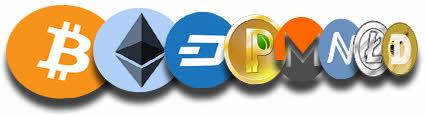 Перечень криптовалют