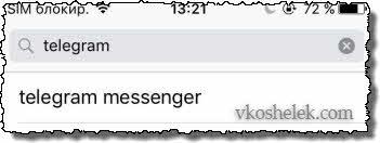 Поиск iOS приложения