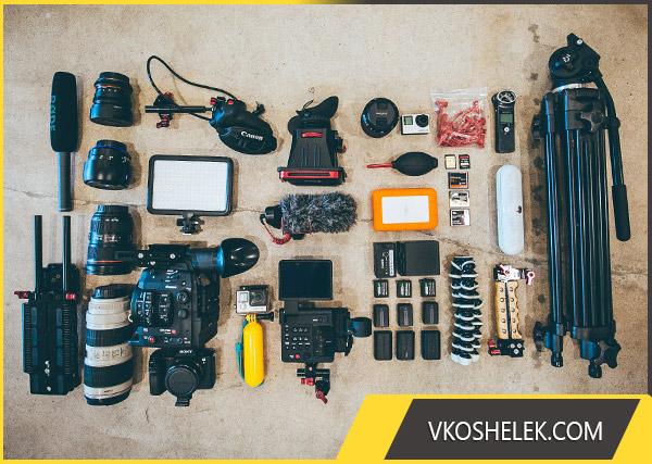 Набор техники мастера видеосъёмки