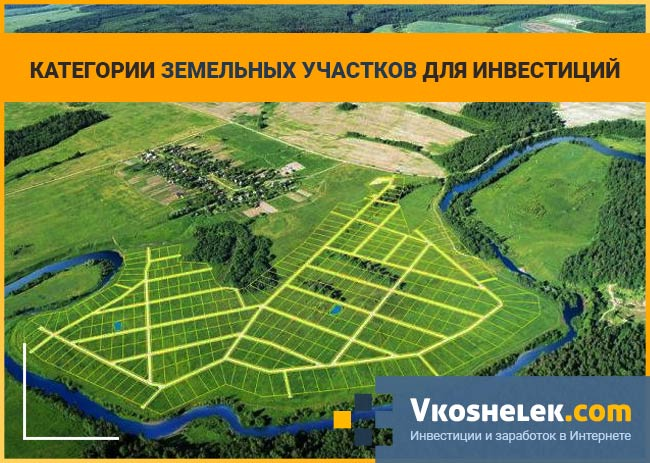 Виды земельных территорий