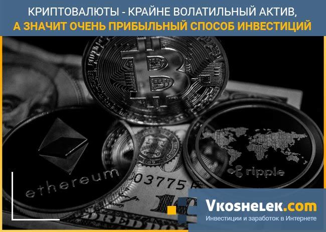 Капиталовложения в криптовалюту
