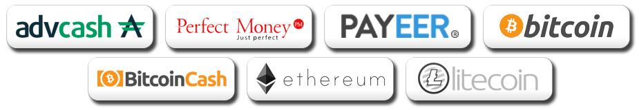 Платежные системы с которыми работает блог vkoshelek.com