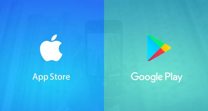 АппСтор и ГуглПлей